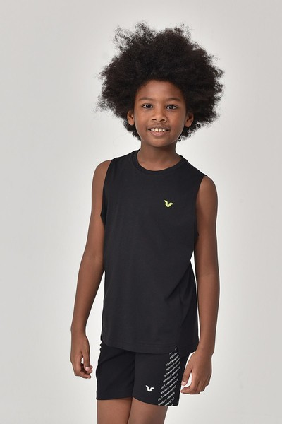 BİLCEE - Bilcee Siyah Erkek Çocuk Atlet GS-8164