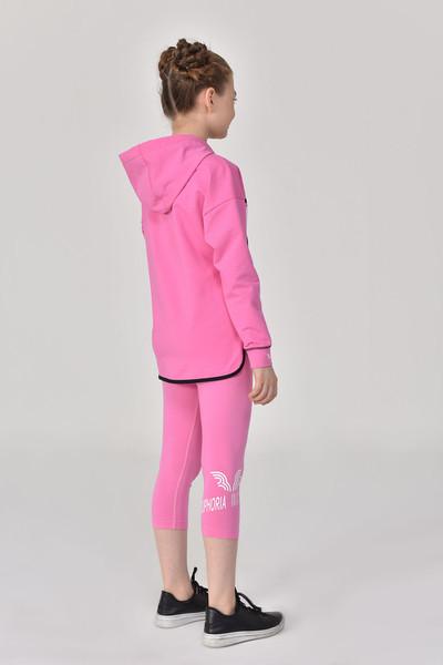 BİLCEE - Bilcee Pembe Kız Çocuk Eşofman Üstü GS-8170 (1)