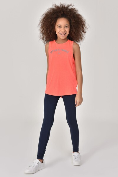 BİLCEE - Bilcee Turuncu Kız Çocuk Atlet GS-8172 (1)