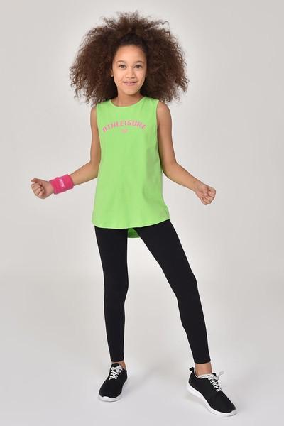 BİLCEE - Bilcee A.Yeşil Kız Çocuk Atlet GS-8172 (1)