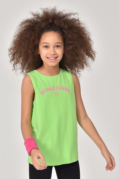 BİLCEE - Bilcee A.Yeşil Kız Çocuk Atlet GS-8172