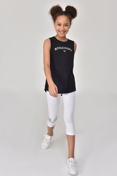 BİLCEE - Bilcee Siyah Kız Çocuk Atlet GS-8172 (1)
