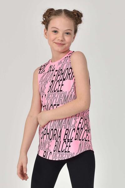 BİLCEE - Bilcee Pembe Kız Çocuk Atlet GS-8173 (1)