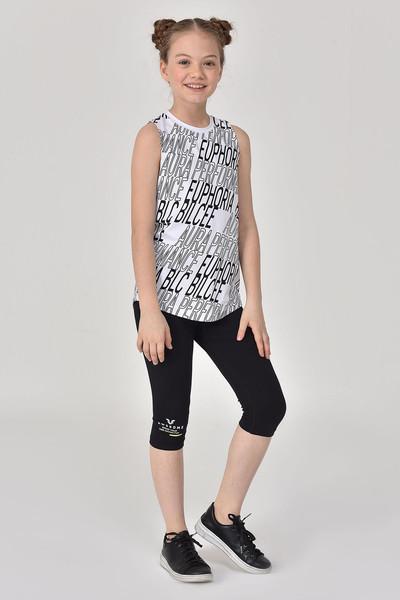 BİLCEE - Bilcee Beyaz Kız Çocuk Atlet GS-8173