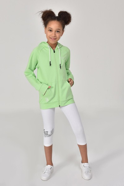 BİLCEE - Bilcee Beyaz Kız Çocuk Tayt GS-8177 (1)