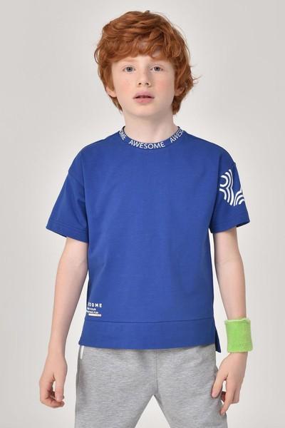 BİLCEE - Bilcee Unisex Çocuk T-Shirt GS-8179