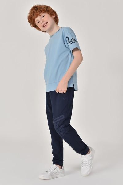 BİLCEE - Bilcee A.Mavi Unisex Çocuk T-Shirt GS-8179 (1)
