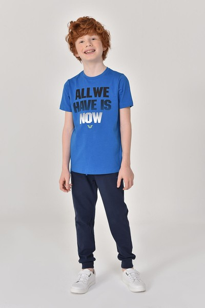 BİLCEE - Bilcee Lacivert Erkek Çocuk Pantolon GS-8184 (1)