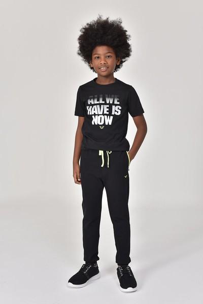 BİLCEE - Bilcee Siyah Erkek Çocuk Pantolon GS-8184 (1)