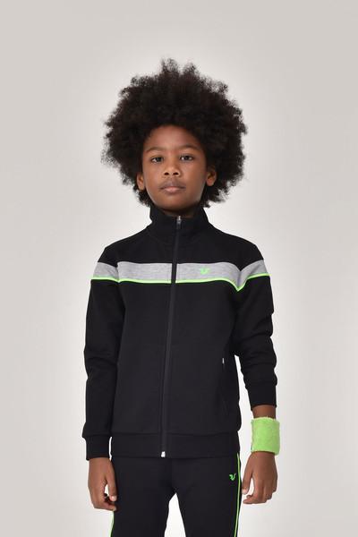 BİLCEE - Bilcee Siyah Erkek Çocuk Eşofman Üstü GS-8188 (1)