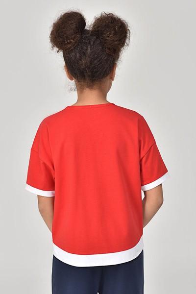 - Bilcee Kırmızı Kız Çocuk T-Shirt GS-8193 (1)