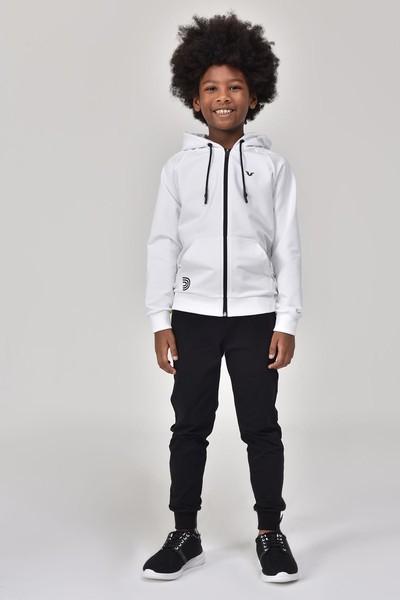BİLCEE - Bilcee Beyaz Unisex Çocuk Eşofman Üstü GS-8195 (1)