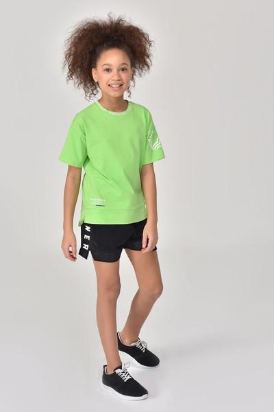 BİLCEE - Bilcee Siyah Kız Çocuk Şort GS-8198 (1)