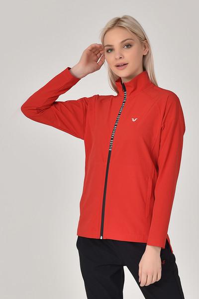 BİLCEE - Bilcee Kırmızı Kadın Eşofman Takımı GS-8246 (1)