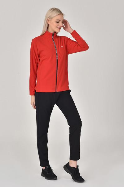 BİLCEE - Bilcee Kırmızı Kadın Eşofman Takımı GS-8246