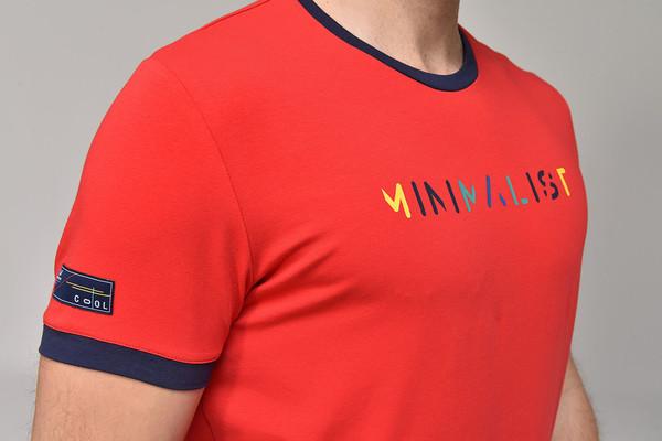 BİLCEE - Bilcee Kırmızı Erkek T-shirt GS-8250 (1)