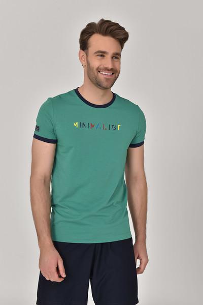 BİLCEE - Bilcee Yeşil Erkek T-Shirt GS-8250 (1)