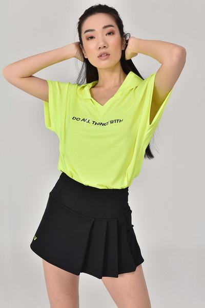 BİLCEE - Bilcee A.Yeşil Kadın T-Shirt GS-8607