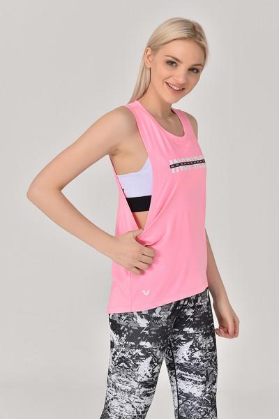 BİLCEE - Bilcee Pembe Kadın Antrenman Atlet GS-8611 (1)