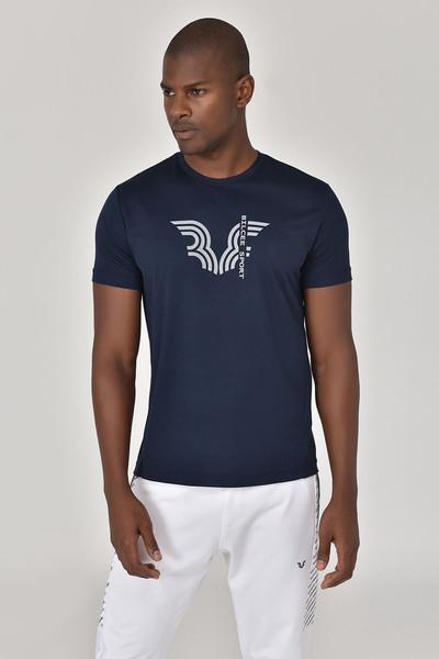 BİLCEE - Bilcee Lacivert Erkek T-shirt GS-8800