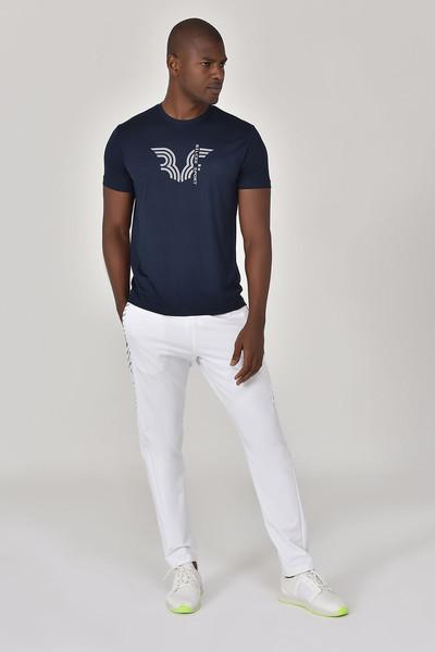 BİLCEE - Bilcee Lacivert Erkek T-shirt GS-8800 (1)