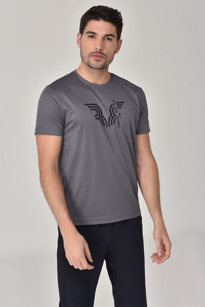 BİLCEE - Bilcee Antrasit Erkek T-Shirt GS-8800