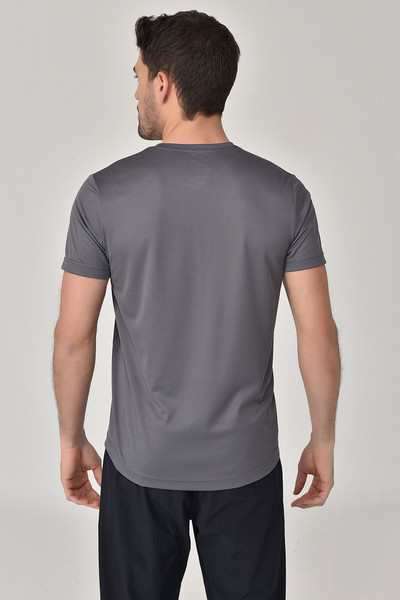 BİLCEE - Bilcee Antrasit Erkek T-Shirt GS-8800 (1)
