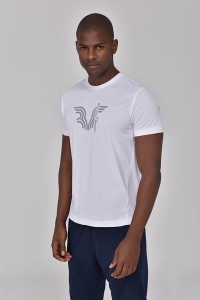 BİLCEE - Bilcee Beyaz Erkek T-shirt GS-8800