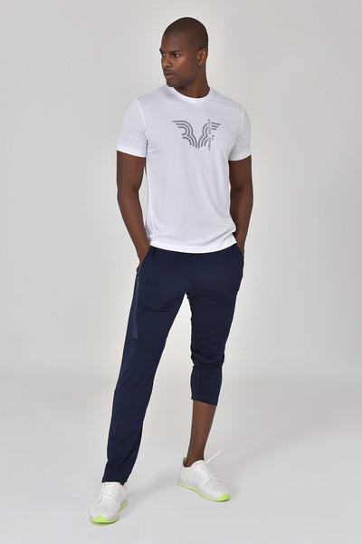 BİLCEE - Bilcee Beyaz Erkek T-shirt GS-8800 (1)