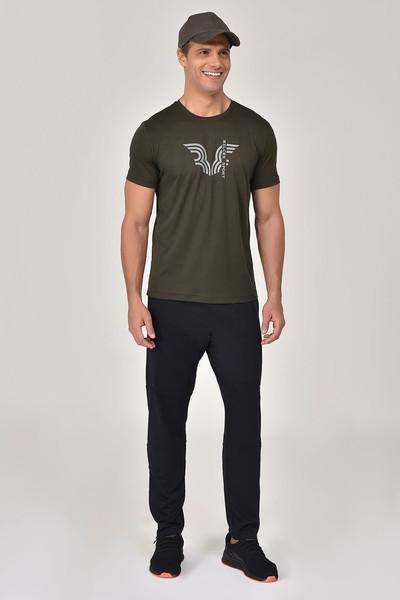 BİLCEE - Bilcee Haki Erkek T-shirt GS-8800 (1)