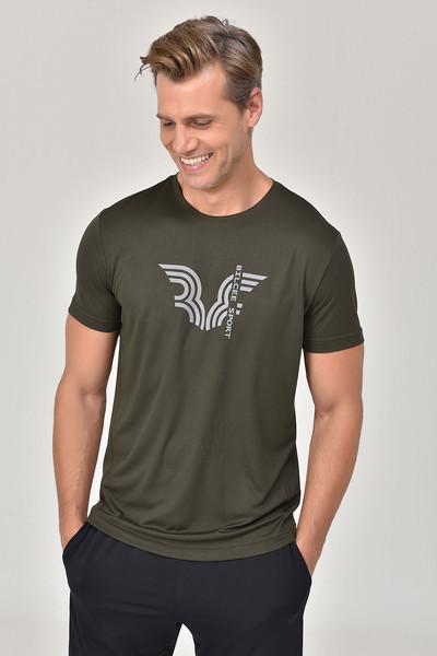 BİLCEE - Bilcee Haki Erkek T-shirt GS-8800