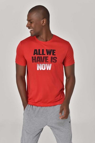 BİLCEE - Bilcee Kırmızı Erkek T-Shirt GS-8803
