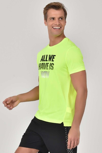 BİLCEE - Bilcee A.Yeşil Erkek Antrenman T-Shirt GS-8803 (1)
