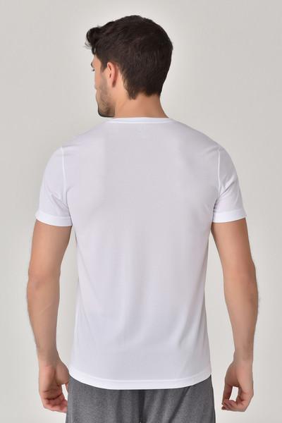 BİLCEE - Bilcee Beyaz Erkek T-Shirt GS-8805 (1)