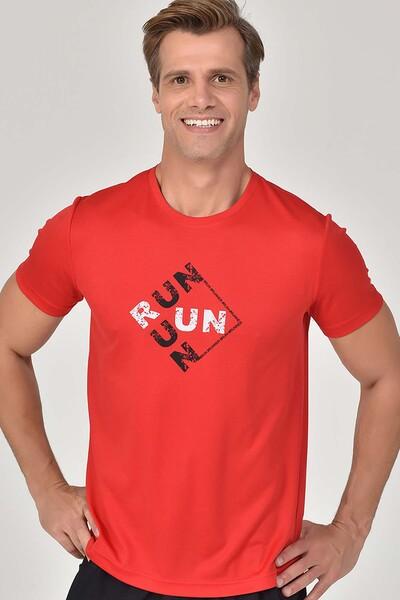 BİLCEE - Bilcee Kırmızı Erkek T-Shirt GS-8805 (1)
