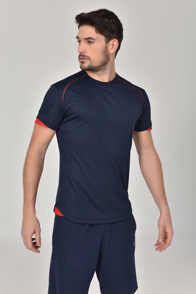 BİLCEE - Bilcee Lacivert Erkek T-shirt GS-8821