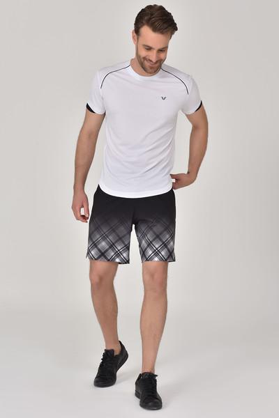 BİLCEE - Bilcee Beyaz Erkek T-shirt GS-8821 (1)
