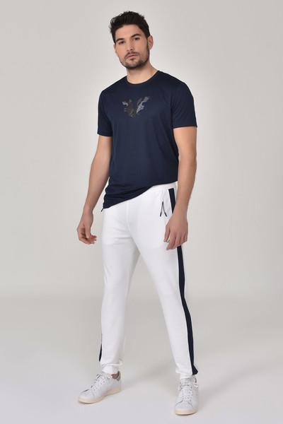 BİLCEE - Bilcee Lacivert Erkek T-shirt GS-8843 (1)