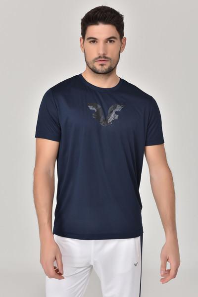 BİLCEE - Bilcee Lacivert Erkek T-shirt GS-8843