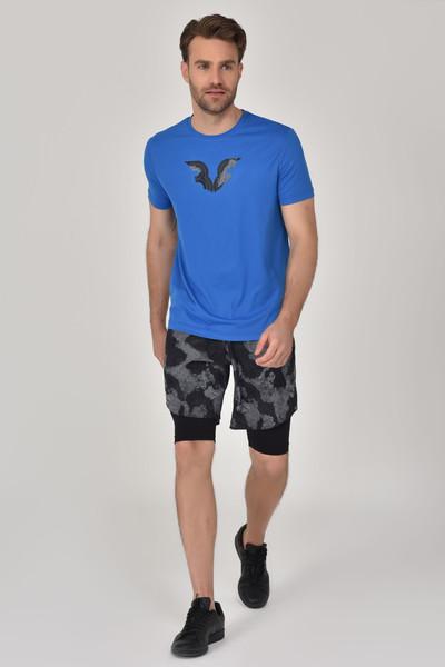 BİLCEE - Bilcee Mavi Erkek T-Shirt GS-8843 (1)