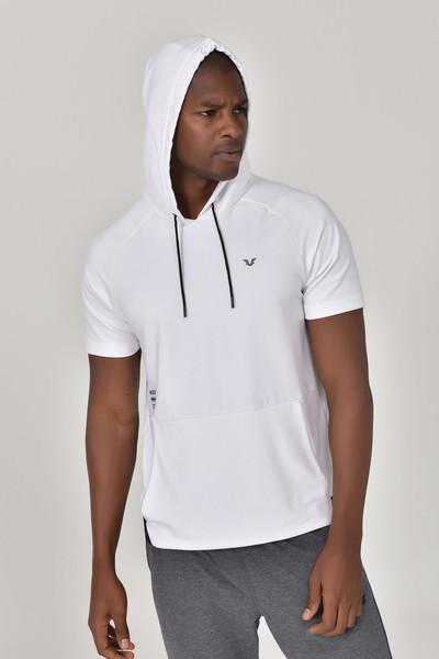 BİLCEE - Bilcee Beyaz Erkek Örme Sweatshirt GS-8852 (1)