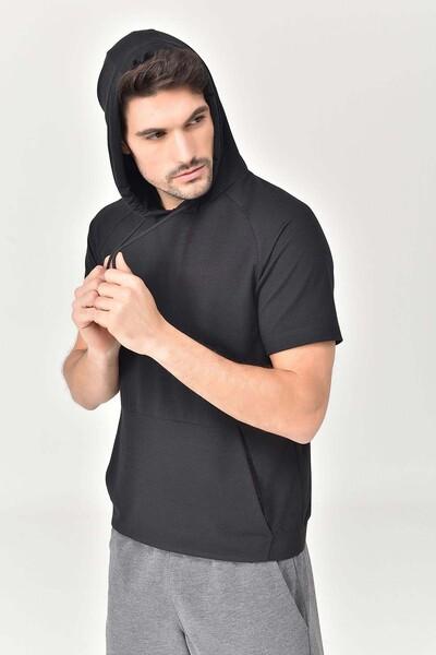 BİLCEE - Bilcee Siyah Erkek Sweatshirt GS-8852 (1)
