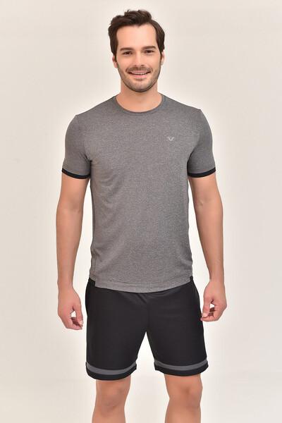 BİLCEE - Bilcee Antrasit Erkek T-Shirt GS-8882