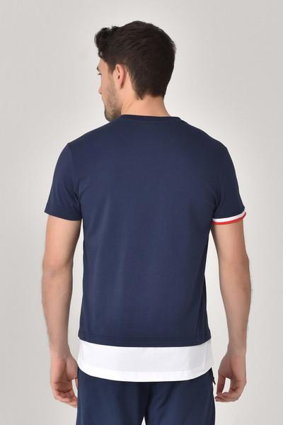 BİLCEE - Bilcee Lacivert Erkek T-Shirt GS-8887 (1)