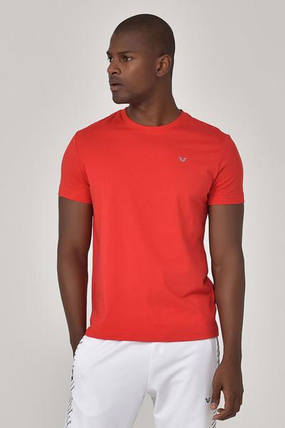 BİLCEE - Bilcee Kırmızı Erkek T-shirt GS-8897