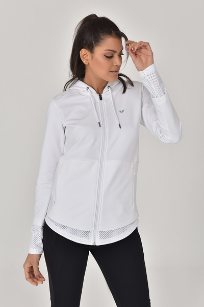 BİLCEE - Bilcee Beyaz Kadın Eşofman Takımı GS-8912 (1)