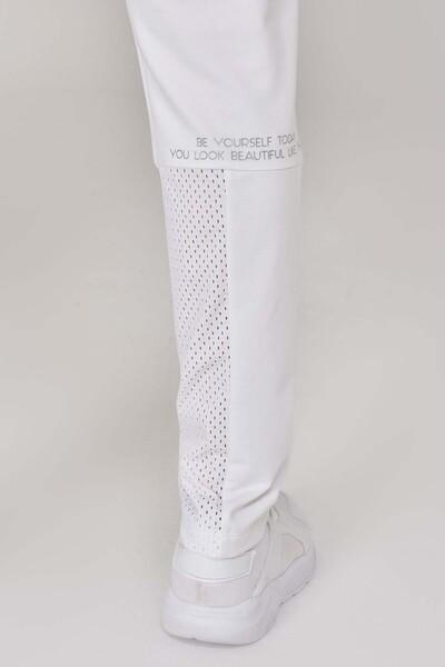 BİLCEE - Bilcee Beyaz Kadın Eşofman Altı GS-8913 (1)