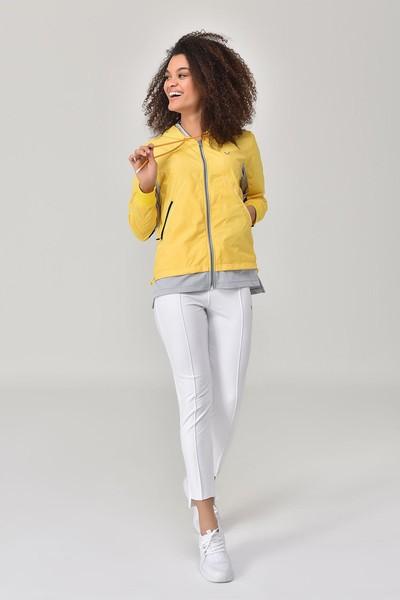 BİLCEE - Bilcee Sarı Kadın Eşofman Üstü GS-8914 (1)