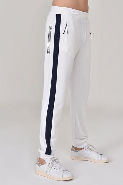 BİLCEE - Bilcee Beyaz Erkek Örme Pantolon GS-8923