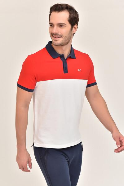 BİLCEE - Bilcee Beyaz Erkek Büyük Beden T-Shirt GS-8981 (1)